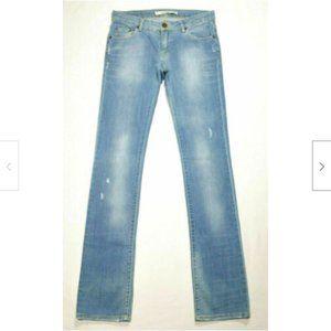 ZARA Women Skinny Jeans Distressed 2295E1M